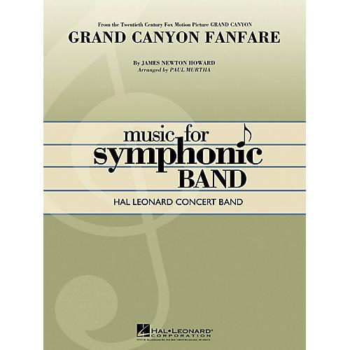 Hal Leonard Grand Canyon Fanfare Concert Band Level 4 Arranged by Paul Murtha-thumbnail