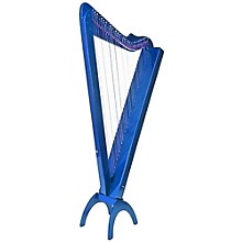 Rees Harps Grand Harpsicle Harp Blue