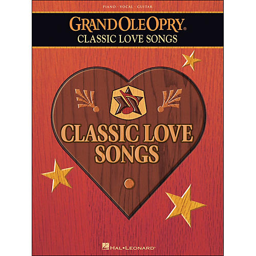 Hal Leonard Grand Ole Opry Classic Love Songs arranged for piano, vocal, and guitar (P/V/G)-thumbnail
