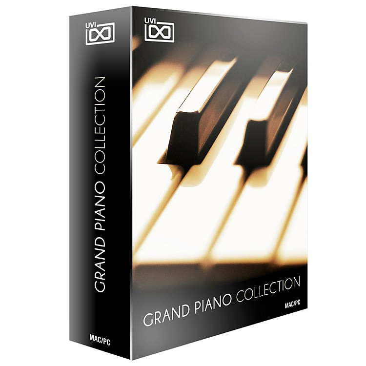 UVI Grand Piano Collection of 5 Acoustic Pianos