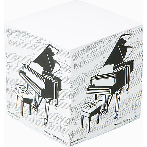 Gear One Grand Piano Memo Cube-thumbnail
