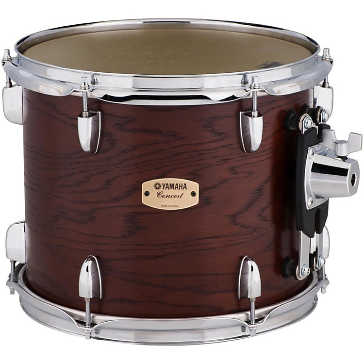 Yamaha Grand Series Double Headed Concert Tom 12x10 Inch Darkwood stain finish