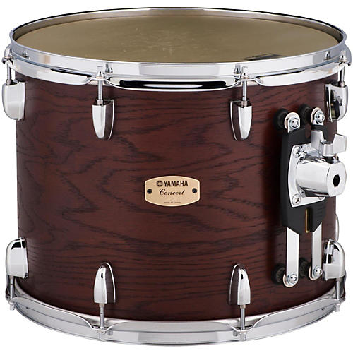 Yamaha Grand Series Double Headed Concert Tom 14 x 11 in. Darkwood stain finish