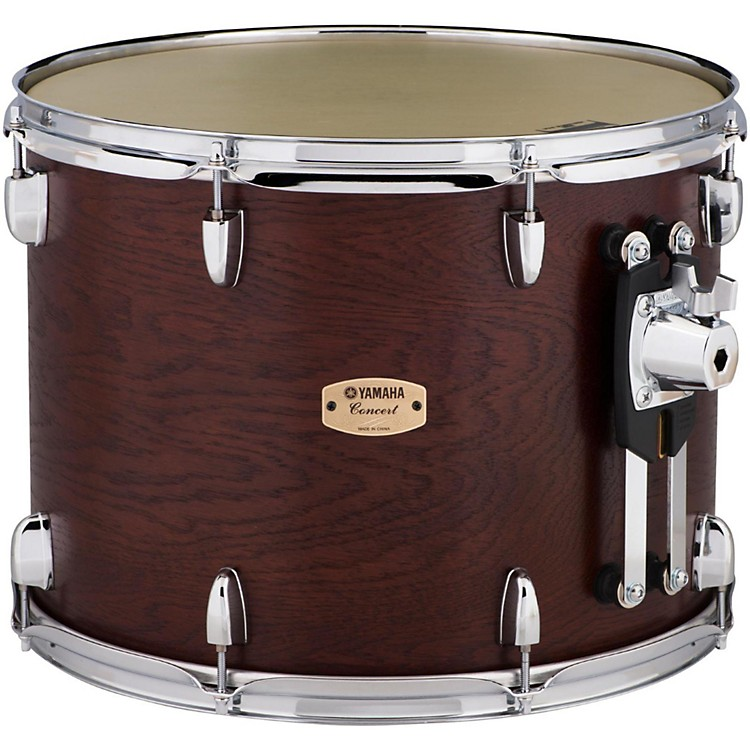 Yamaha Grand Series Double Headed Concert Tom 16x12 Inch Darkwood stain finish