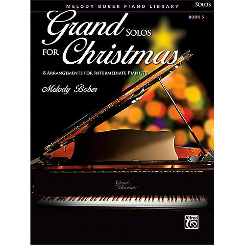 Alfred Grand Solos for Christmas, Book 5 Intermediate-thumbnail
