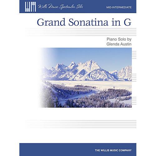 Willis Music Grand Sonatina in G Willis Series by Glenda Austin (Level Mid-Inter)-thumbnail
