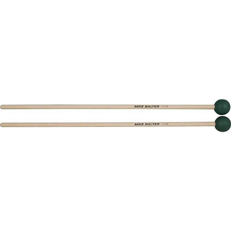 Mike Balter Grandioso Unwound Medium Hard Mallets Birch Handles