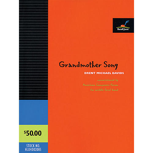 American Composers Forum Grandmother Song (BandQuest Series, Grade 3) Concert Band Level 3-thumbnail