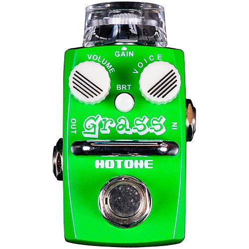 Hotone Effects Grass Modern Overdrive Skyline Series Guitar Effects Pedal-thumbnail