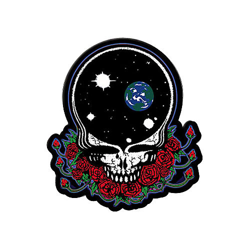 Gear One Grateful Dead Space Your Face Patch Musician S Friend