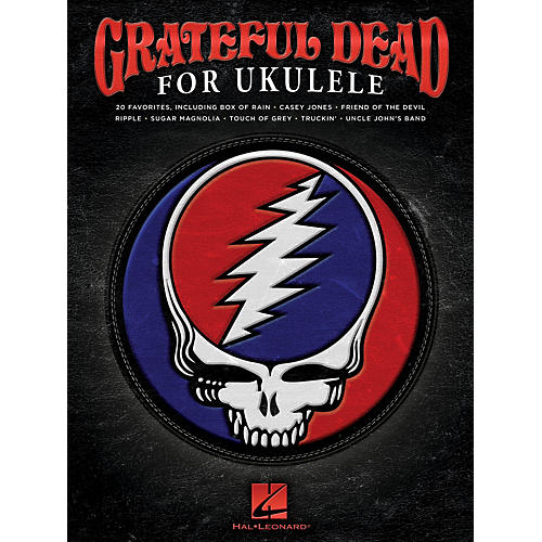 Hal Leonard Grateful Dead for Ukulele Ukulele Series Softcover Performed by Grateful Dead-thumbnail