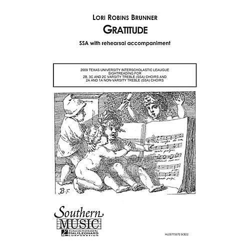 Southern Gratitude SSA Composed by Lori Robins Brunner-thumbnail