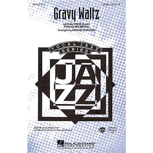 Hal Leonard Gravy Waltz ShowTrax CD Arranged by Paris Rutherford-thumbnail