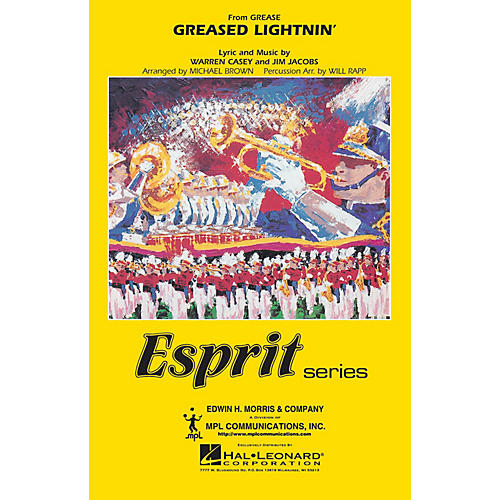 Hal Leonard Greased Lightnin' (from GREASE) Marching Band Level 3 Arranged by Will Rapp