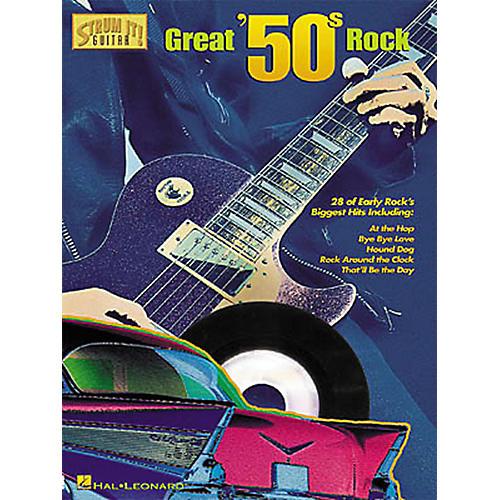 Hal Leonard Great '50s Rock Strum It Guitar Tab Songbook