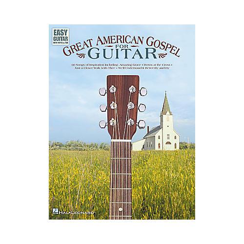 Hal Leonard Great American Gospel for Easy Guitar Book