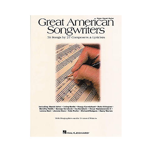 Hal Leonard Great American Songwriters Piano/Vocal/Guitar Songbook-thumbnail