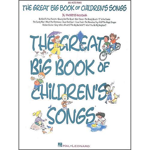 Hal Leonard Great Big Book Of Children's Songs-thumbnail