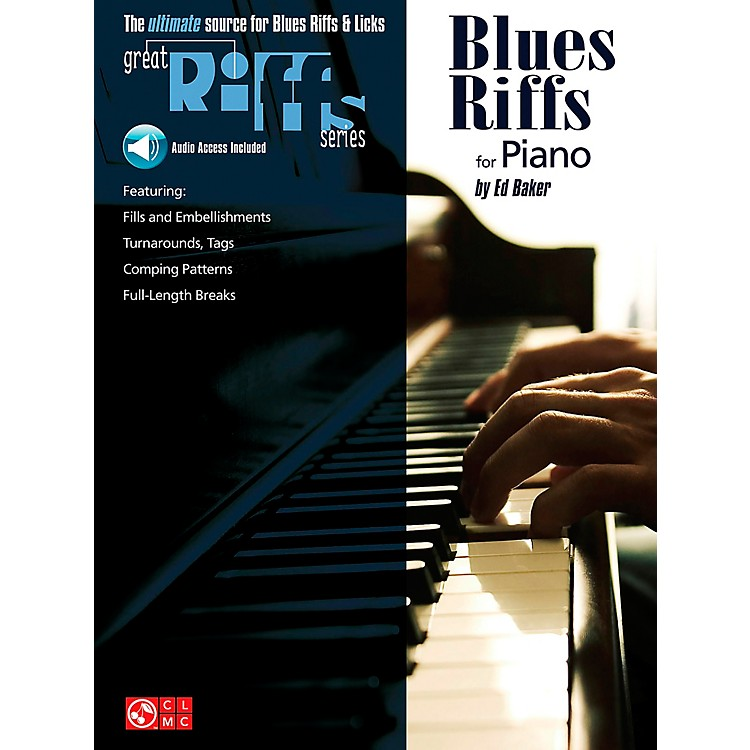 Cherry Lane Great Blues Riffs For Piano Book/CD