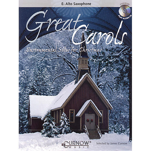 Curnow Music Great Carols (Eb Alto Saxophone - Grade 3-4) Concert Band Level 3-4-thumbnail