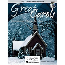 Curnow Music Great Carols (Flute/Oboe/Mallet Percussion - Grade 3-4) Concert Band Level 3-4