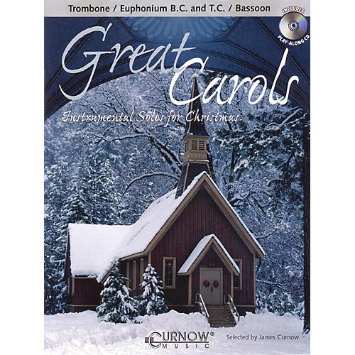 Curnow Music Great Carols (Trombone/Euphonium (BC or TC)/Bassoon - Grade 3-4) Concert Band Level 3-4-thumbnail