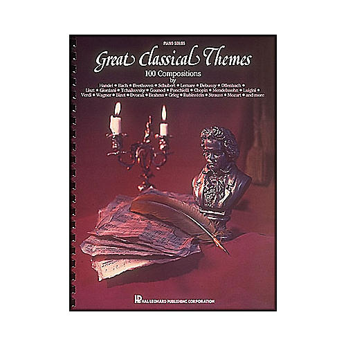Hal Leonard Great Classical Themes - 100 Compositions for Piano Solo
