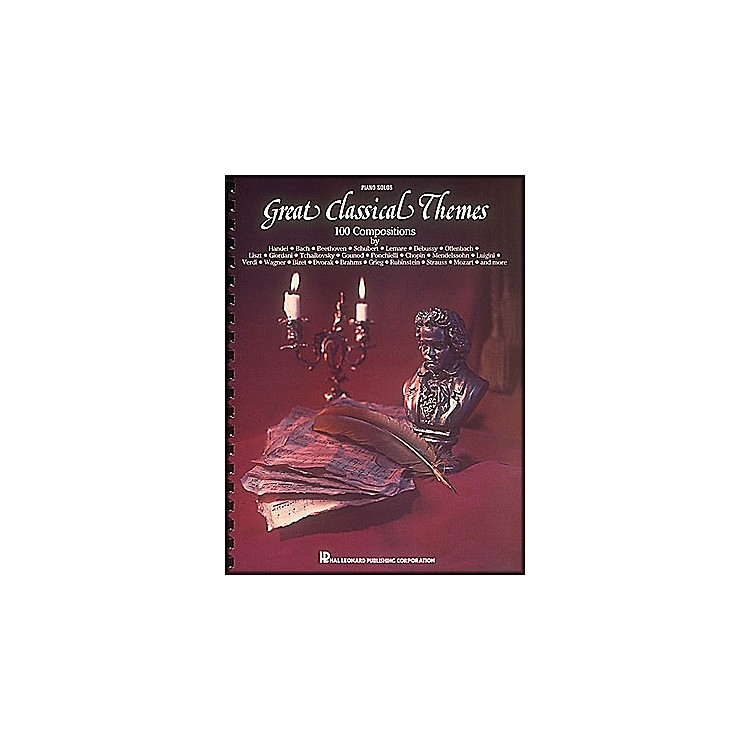 Hal LeonardGreat Classical Themes - 100 Compositions for Piano Solo