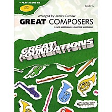 Curnow Music Great Composers (Eb Alto Sax/Eb Baritone Sax - Grade 0.5) Concert Band Level 1/2