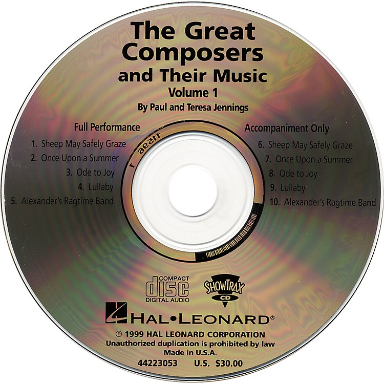 Hal LeonardGreat Composers and Their Music CD