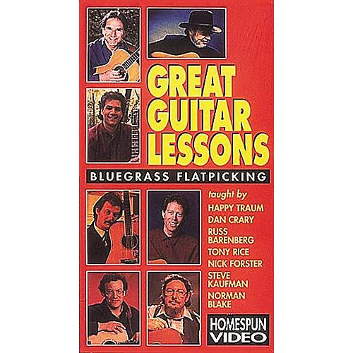 Hal Leonard Great Guitar Lessons - Bluegrass Flatpicking Video-thumbnail