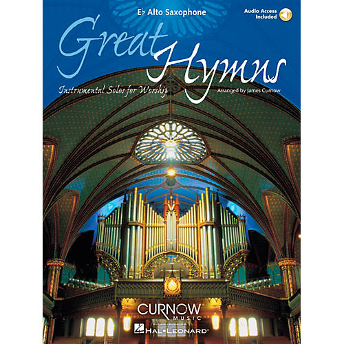 Curnow Music Great Hymns (Eb Alto Saxophone - Grade 3-4) Concert Band Level 3-4-thumbnail