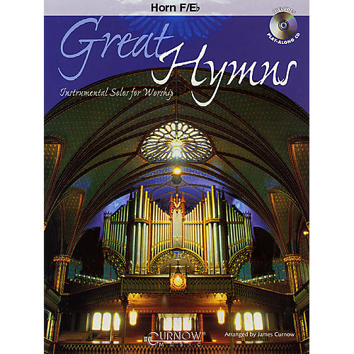 Curnow Music Great Hymns (F Horn/Eb Horn - Grade 3-4) Concert Band Level 3-4-thumbnail
