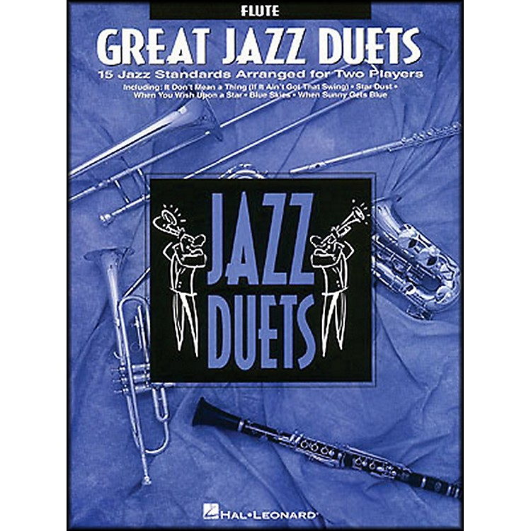 Hal Leonard Great Jazz Duets for Flute