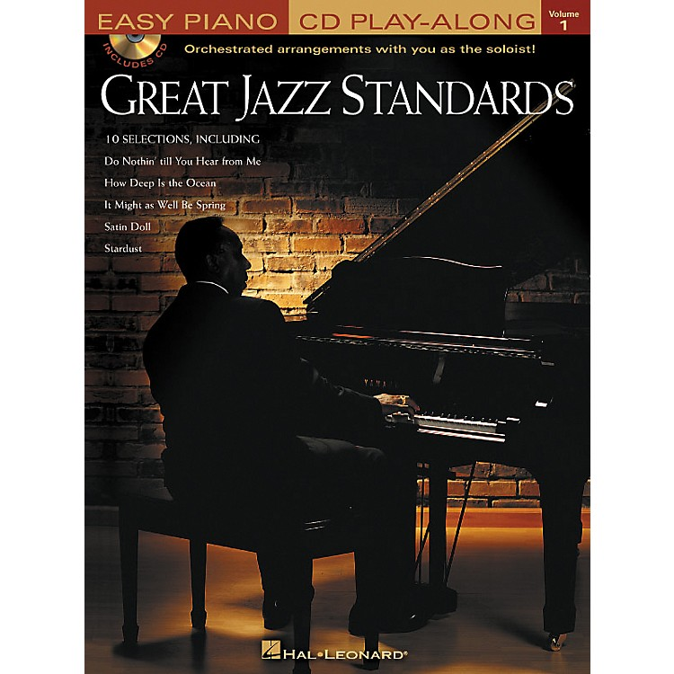 Hal Leonard Great Jazz Standards - Easy Piano CD Play-Along Volume 1 Book/CD