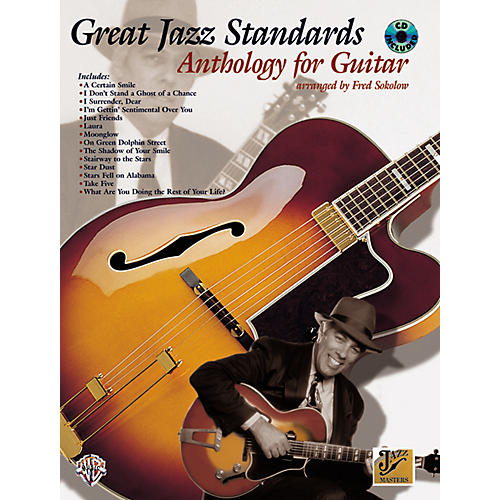 Alfred Great Jazz Standards Anthology for Guitar Book