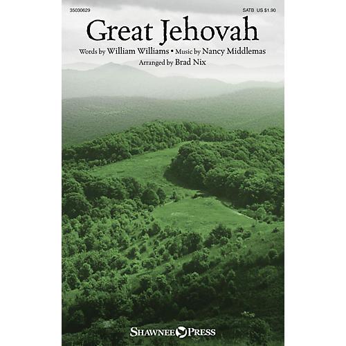 Shawnee Press Great Jehovah SATB arranged by Brad Nix-thumbnail