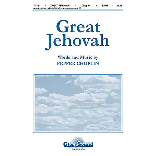 Shawnee Press Great Jehovah SATB composed by Pepper Choplin-thumbnail
