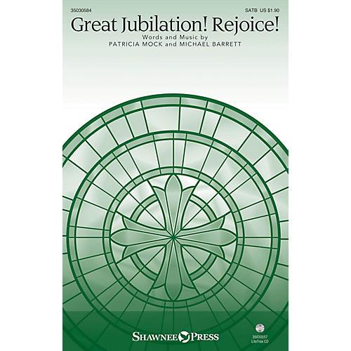Shawnee Press Great Jubilation! Rejoice! SATB composed by Patricia Mock-thumbnail
