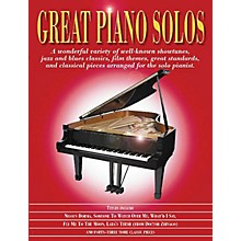 Music Sales Great Piano Solos - The Red Book Music Sales America Series Softcover