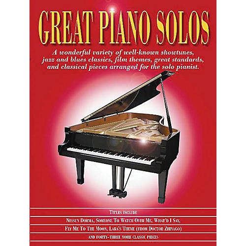 Music Sales Great Piano Solos - The Red Book Music Sales America Series Softcover-thumbnail