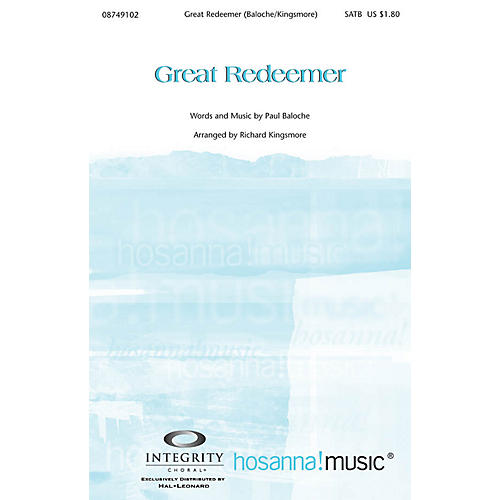 Integrity Music Great Redeemer Orchestra Arranged by Richard Kingsmore-thumbnail