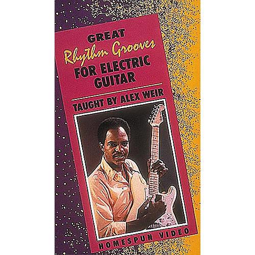 Homespun Great Rhythm Grooves for Electric Guitar (VHS)-thumbnail