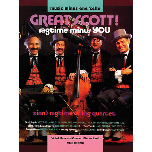 Music Minus One Great Scott! Ragtime Minus You (Music Minus One Cello) Music Minus One Series Softcover with CD-thumbnail