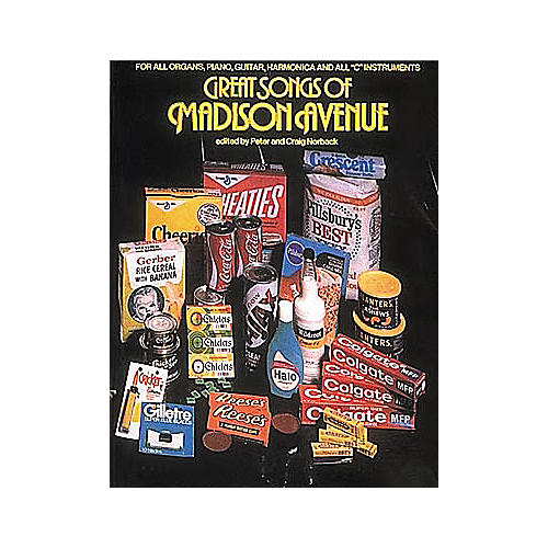 Hal Leonard Great Songs Of Madison Avenue Piano/Vocal/Guitar Songbook