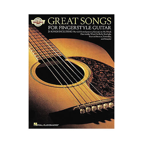 Hal Leonard Great Songs for Fingerstyle Guitar Book