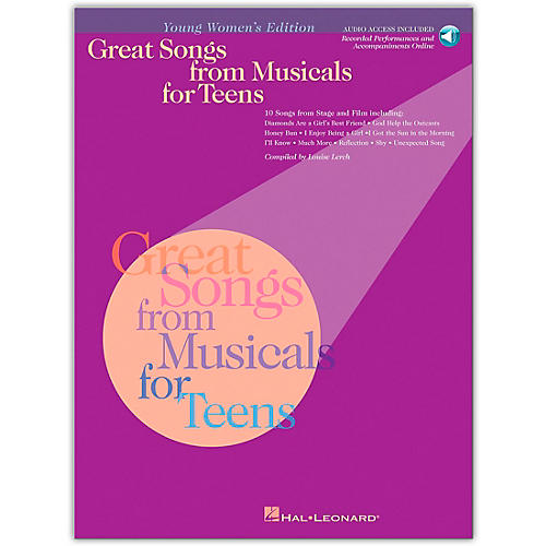 Hal Leonard Great Songs from Musicals for Teens