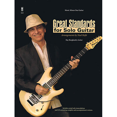Music Minus One Great Standards for Solo Guitar Music Minus One Series Softcover with CD-thumbnail