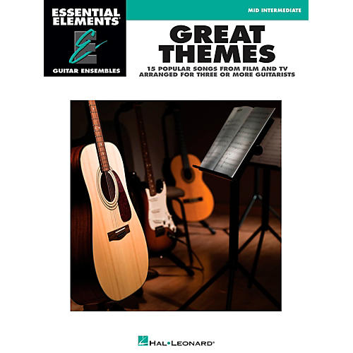Hal Leonard Great Themes - Essential Elements Guitar Ensembles Songbook