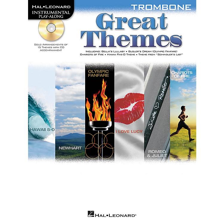Hal LeonardGreat Themes - Instrumental Play-Along Book/CDTrombone
